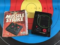 TOMY PALITOY MISSILE STRIKE ELECTROMECHANICAL GAME WORKS PERFECTLY WITH BOX