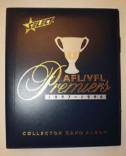 2013 AFL Select Official Premiers Album AFL / VFL 1897 - 1996 Folder