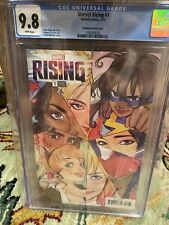 Marvel Rising #1 CGC 9.8 Momoko Variant 1:25 AMazing Cover HTF