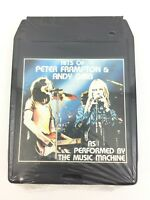Hits Of Peter Frampton & Andy Gibb The Music Machine 8 Track Tape Sealed #3599