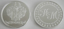 "1 ONE OZ HW MINTING HERALDRY MINT ""ITALY"" FINE .999 SILVER COIN SILVER ROUND"
