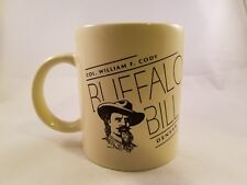 Col. William J Cody Buffalo Bill Denver Coffee Mug Cup