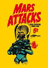 Old Cartoon. MARS ATTACKS - SPACE ADVENTURE BUBBLE GUM - 5 cents