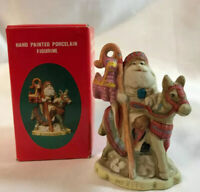 Santa's of the Nations Mexico Vintage 1991 Porcelain Hand Painted Figurine