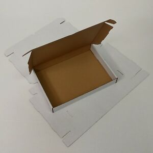 Maxibrief Karton weiss 350x250x50mm (innen: 330x242x45mm)