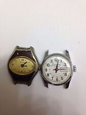 Two vintage Lucerne wrist watches for parts or repair