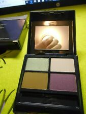 NEW AVON TRUE COLOR Powder Eyeshadow QUAD Compact SPRING QUAD w/ Mirror OSR1