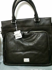 Oroton Leather FINN Tote Messanger Satchel Laptop Hand Bag BNWT Brown