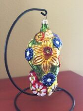 Slavic Treasures Ornament Flower Cluster Ii Large Spring Flowers Rare Retired