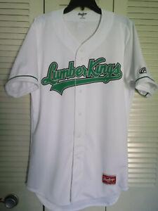 Rawlings Authentic Clinton Lumberkings Jersey size 40 & New Era Cap size 71/2