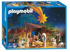 Playmobil # 3996 NEW SEALED IN BOX Nativity Set Holiday Xmas Animals Religious