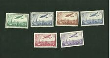 France Stamps Scott C8 - C13 Post Aerienne
