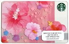 Starbucks Korea Exclusive 2015 Rose of Sharon Card