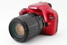 Canon EOS 1100D/Kiss X50/Rebel T3 12.2MP 35-135mm Red [Exc+++] w/8GB SD [876]