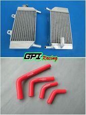 aluminum radiator and silicone hose HONDA CRF250R/CRF250X 2004-2009 05 06 07 08