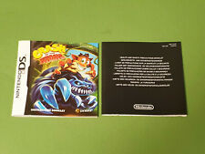 Nintendo DS Instruction Manual - Crash Of The Titans NTR-AQJP-EUR *NO GAME*