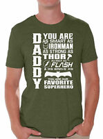 Daddy Superhero T-SHIRT Father's Day Gift For Dad Shirt 20