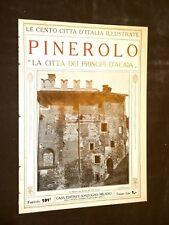 Pinerolo, città dei Principi D'Acaia - Le Cento Città d'Italia illustrate