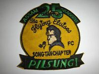 """Korea War (1950-53) US 25th Fighter Squadron PILSUNG! """"THE FLYING ELVISES"""" Patch"""