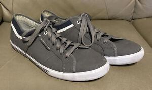 Le Coq Sportif Mens Shoes Light Grey Size US10 Art # 1211629 Excellent Condition