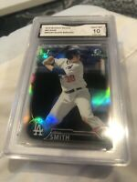 WILL SMITH 2016 BOWMAN DRAFT PROSPECT CHROME REFRACTOR GRADED 10 💎 RC