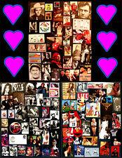 Mr. Glenn's Scissor Magic! Art Ephemera Lot #3: 100+ Icon, Hero, Legend Clips!