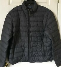 $185 NWT Mens Polo Ralph Lauren Water Repel Packable Down Puffer Jacket Gray XXL