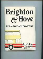 More details for brighton & hove bus & coach co. complete set of timetables in folder, early 1986