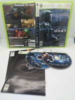 Halo 3 ODST and Halo 4 Xbox 360 2 Game Lot Complete Tested Free Shipping