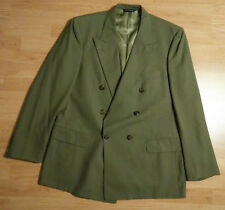 Double Breasted Mens Burberrys Grey Sports Jacket Blazer Coat Saks Fifth Avenue
