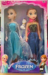 Frozen Puppe Elsa Anna Kristallzauber Figur 30cm Mädchen Geschenk