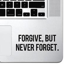 Perdona motivacionales Macbook Pro Air Laptop De Calcomanías Adhesivos teclado ipad pegatina