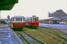PHOTO  SYLTER INSELBAHN METRE GAUGE ROLLING STOCK AT WESTERLAND 26MAR1967
