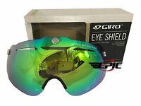 New Giro Eye Shield  Loden Green Yellow for Giro Air Attack Helmet