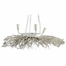 "Branch Wood / Metal Chandelier D28""x6.5"" - 37439"