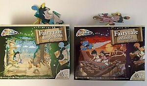2 x Grafix Puzzles - Aladdin + Jungle Book (45 pieces)
