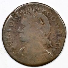 1787 14-H Connecticut Colonial Copper Coin