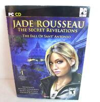 Jade Rousseau: The Secret Revelations- Fall of Sant' Antonio (PC-CD, 2010)  NEW