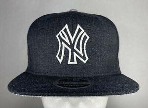 New Era MLB New York Yankees Heather Hype 9FIFTY Snapback Hat, Cap, New