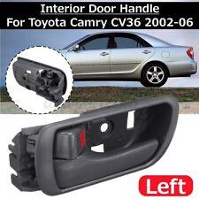 Left Inside Inner Interior Door Handle For Toyota Camry CV36 2002~2006 Dark Gray