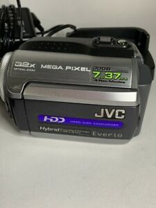 JVC Everio Camcorder GZ-MG155