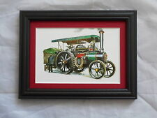 Traction Engine Stunning Framed & Mounted Postcard **Offers** #3