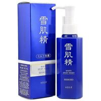 Sekkisei White Milky Wash 140ml Face Wash Exfoliator UK Seller