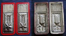 REPUBBLICA ITALIANA MOSTRINE ALAMARI ANNI '50 LAMIERINO STAMPATO CARABINIERE #1