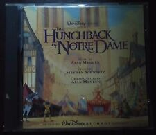 OST Alan Menken Stephen Schwartz ‎– The Hunchback Of Notre Dame CD 1996
