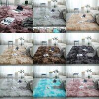 Fluffy Room Rugs Anti-Skid Shaggy Area Rug Dining Room Carpet Floor Bedroom Mat