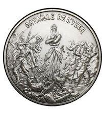Medaille Bataille de l'hyzer bronze argenté
