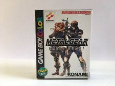 Nintendo Game Boy Color Metal Gear Ghost Babel Gameboy Japan JP z3050