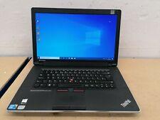 Core i3 Lenovo Thinkpad Laptop. 2.4ghz/8GB Edge/240GB SSD/Windows 10