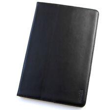 Echt Leder Schutzhülle Apple iPad Air 2 Tablet Tasche  Cover Smart Case schwarz